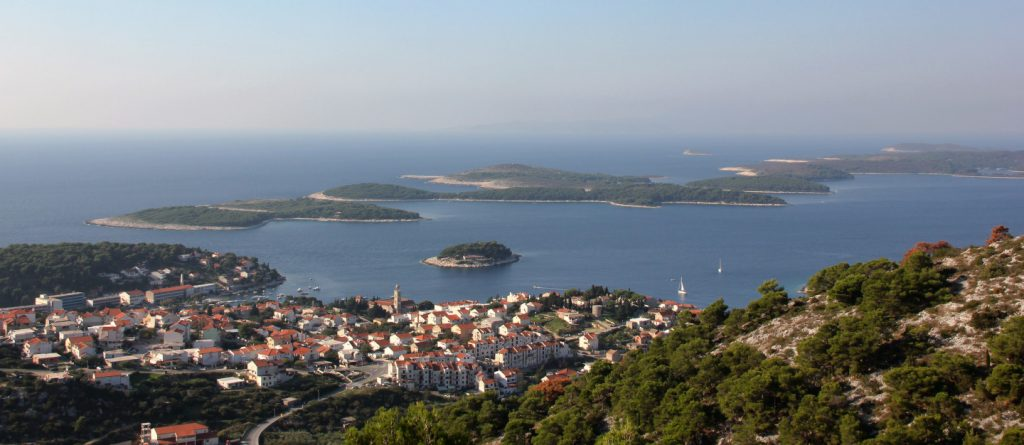 Island Hvar in Croatia