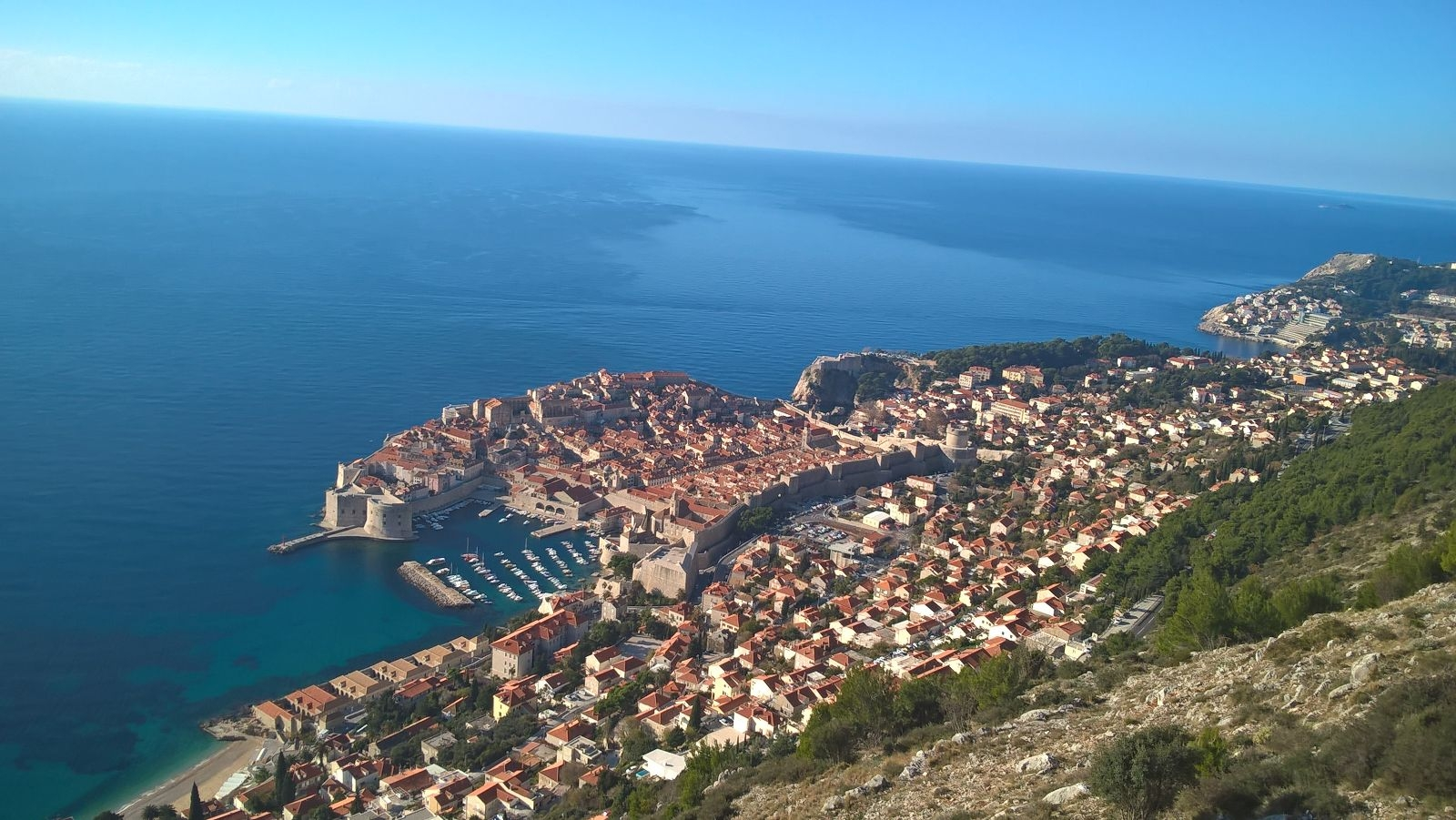 Beautiful Dubrovnik Town with available Luxury Croatian Villas