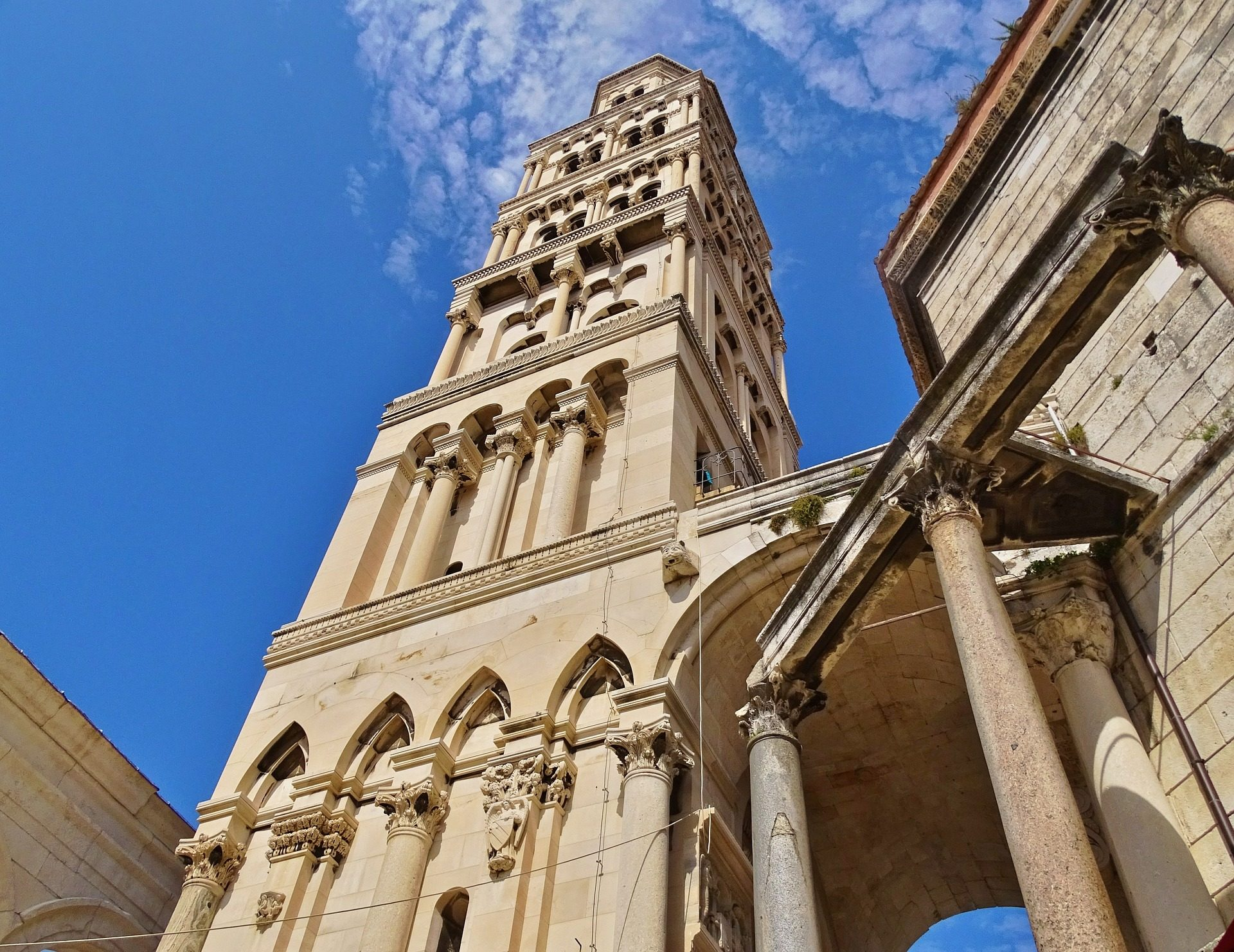 diocletian palace and cathedral of saint domnius