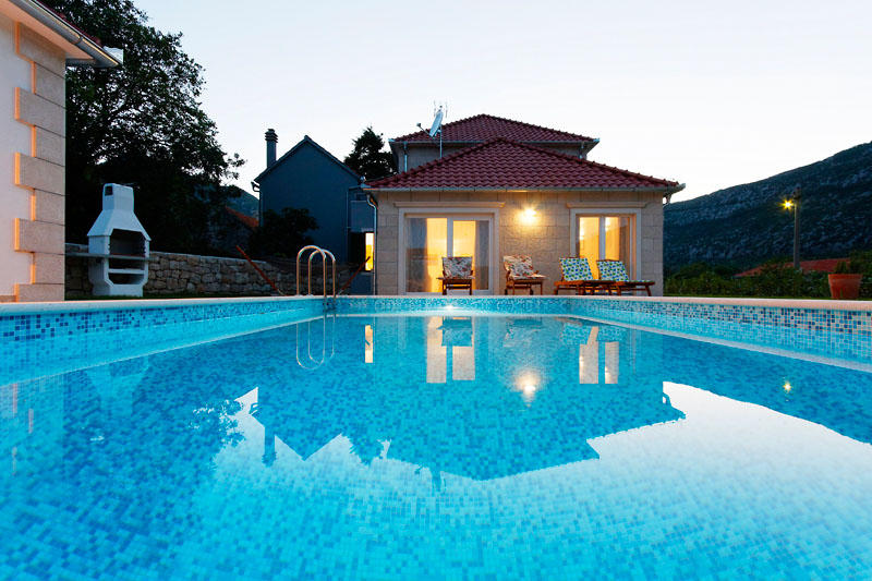 Luxury villa Župa with pool