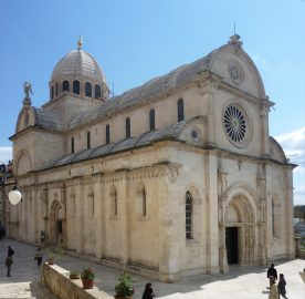 St. James Cathedral in Sibenik, Croatia - UNESCO site