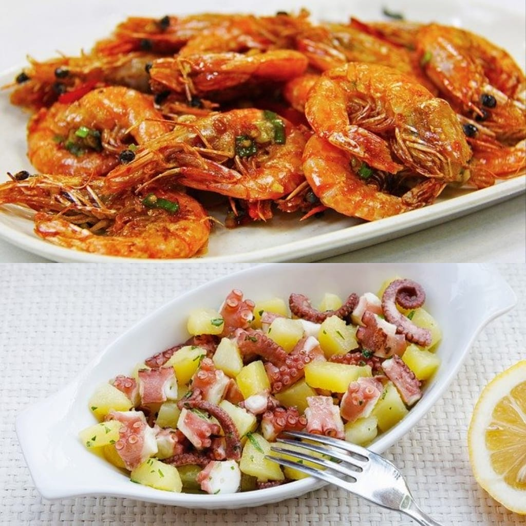 sea specialties in croatia