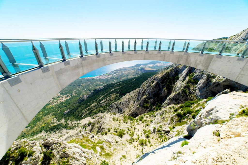 Biokovo skywalk - one of the best places to visit in Croatia