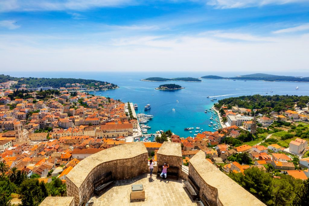 Hvar town - most instagrammable places in Croatia