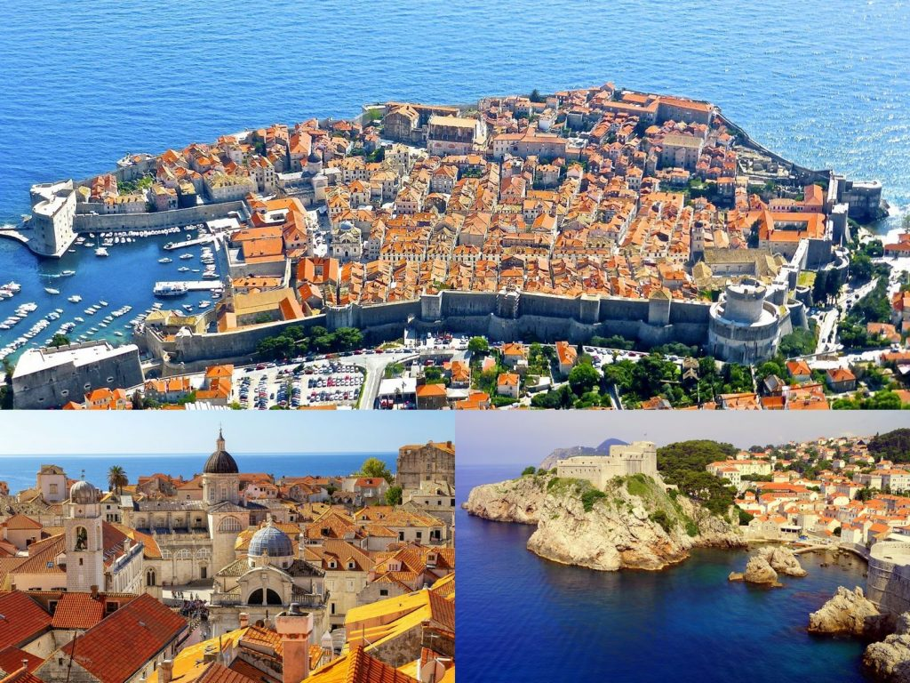 Dubrovnik town - one of the best places to visit in Croatia