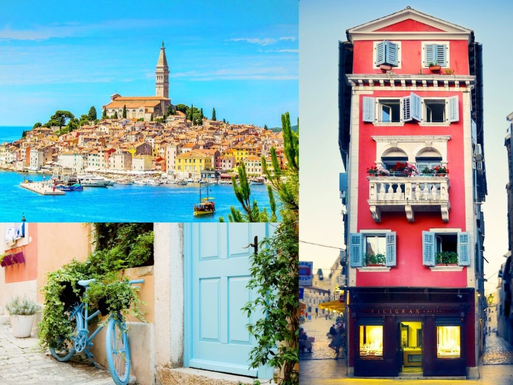 Rovinj town - one of the most instagrammable places in Croatia