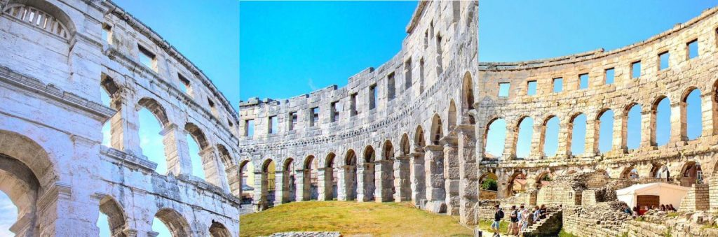 Pula Amphitheatre - one of the best places to visit in Croatia