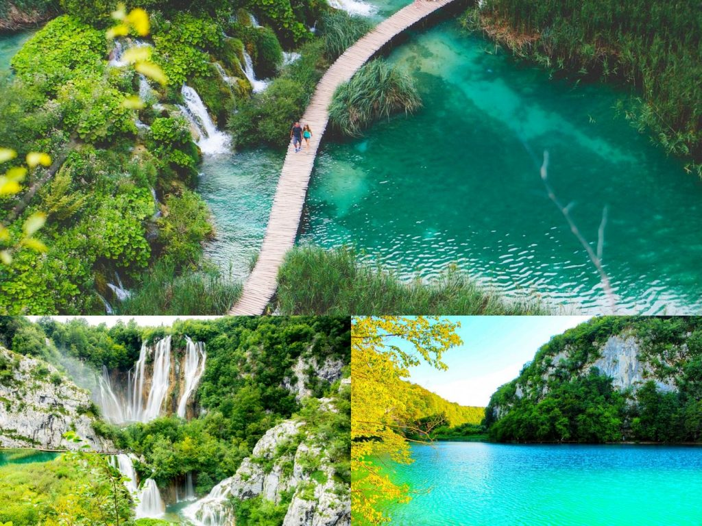Plitvice lakes - one of the best places to visit in Croatia