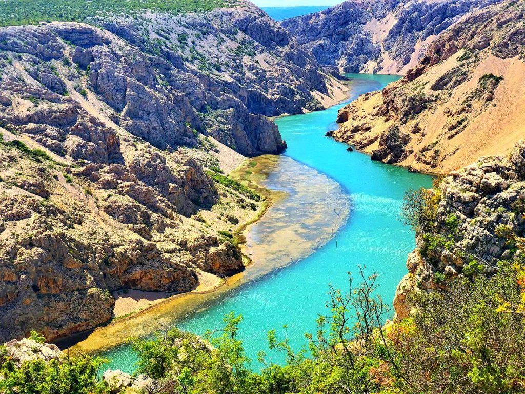 Zrmanja canyon - most instagrammable places in Croatia