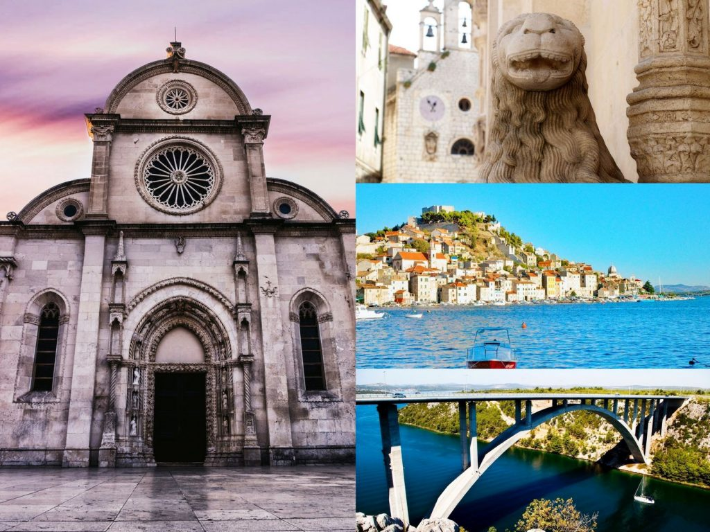 Sibenik town - one of the best places to visit in Croatia