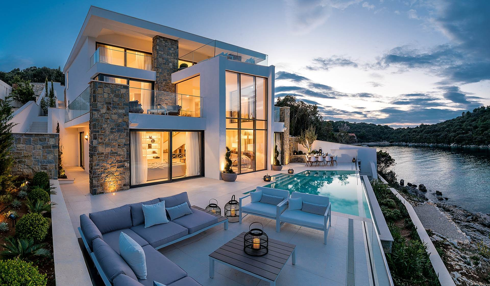 villas in croatia